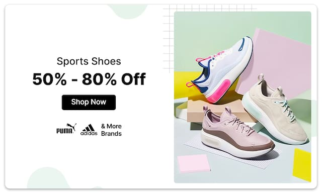 Sports Shoes | 50% - 80% Off