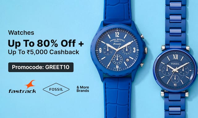 Watches | Upto 80% Off