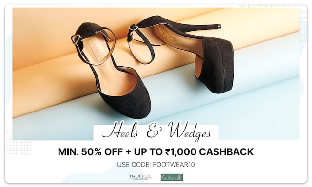 Heels & Wedges | Min. 50% Off