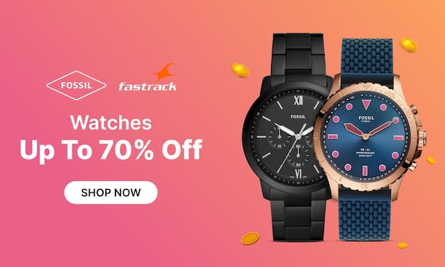 Watches | Upto 70% Off