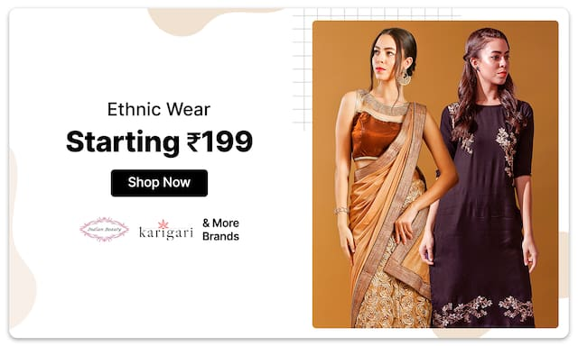 Ethnic Wear | Starting Rs 199