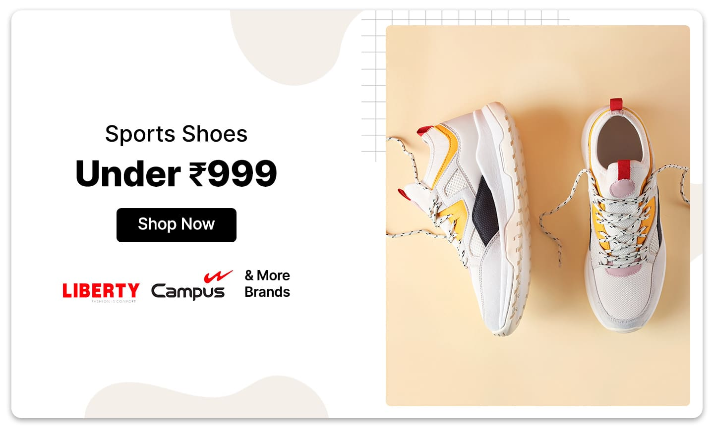 Sports Shoes | Under Rs 999