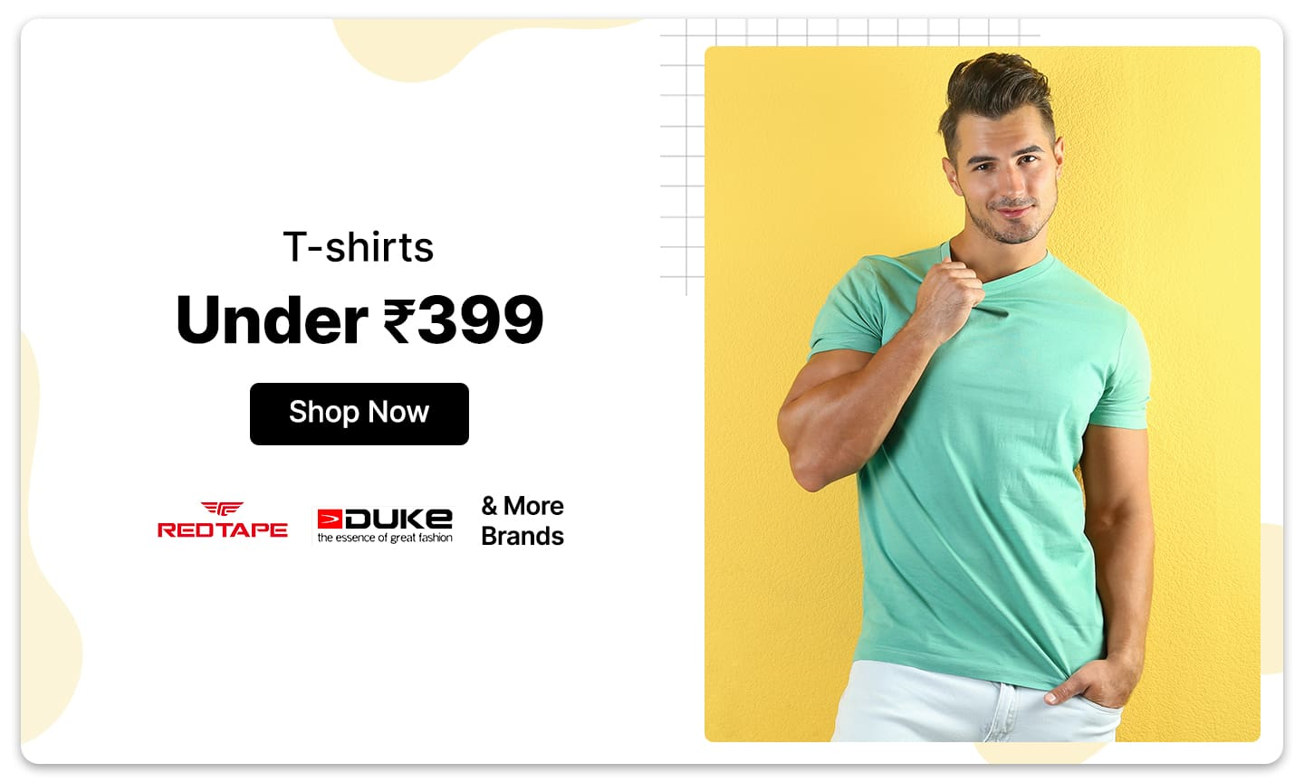 T-shirts | Under Rs. 399