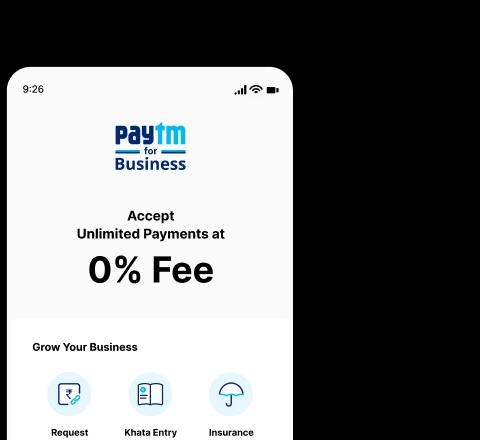 Paytm for <span>Business App</span>