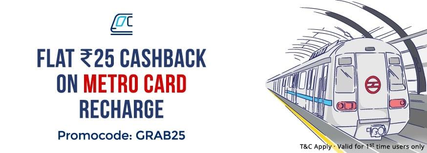 Metro Card Recharge Online – Recharge your Mumbai & Delhi