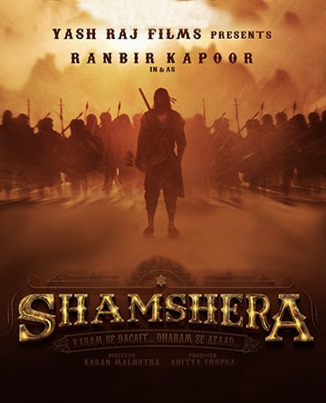 Shamshera Poster